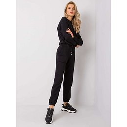 RUE PARIS Ladies´ black sweatpants