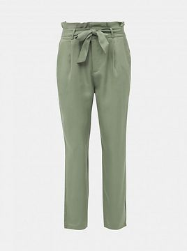 Green trousers VERO MODA Eva