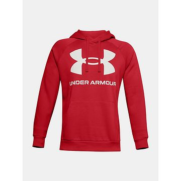 Mikina Under Armour UA Rival Fleece Big Logo HD-RED