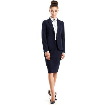 Stylove Woman's Jacket S005 Navy Blue