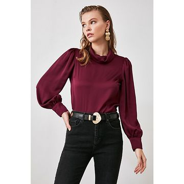 Trendyol Myrberry Right Collar Blouse