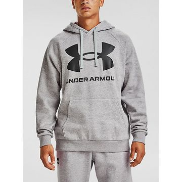 Mikina Under Armour Rival Fleece Big Logo HD-GRY