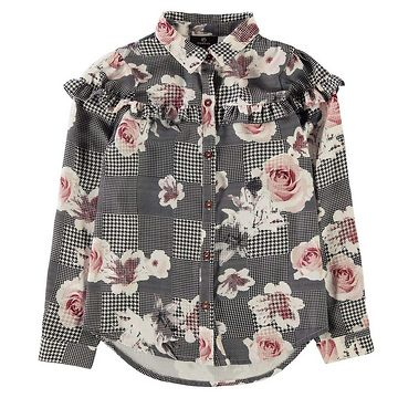 Firetrap Frill Blouse Junior Girls