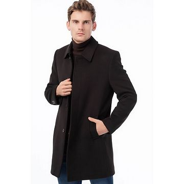 PLT8330 DEWBERRY MEN's COAT-COFFEE