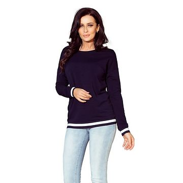 NUMOCO Woman's Sweatshirt 222-1 Navy Blue