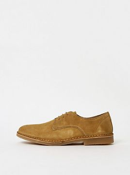 Mustard Men's Suede Shoes Selected By Homme Royce