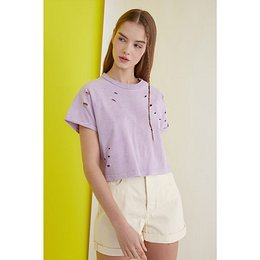 Trendyol Crop Knitted T-Shirt