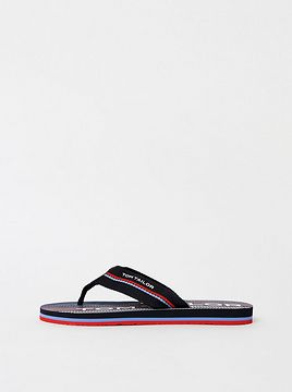 Tom Tailor's Dark Blue Men's Flip Flops