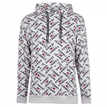 Tommy Jeans Over Print Hoodie
