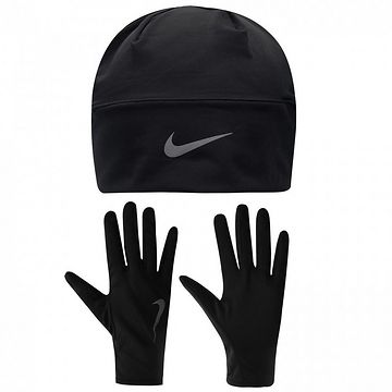Nike Run Hat and Gloves Set Mens