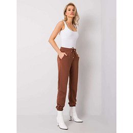 RUE PARIS Brown women´s sweatpants