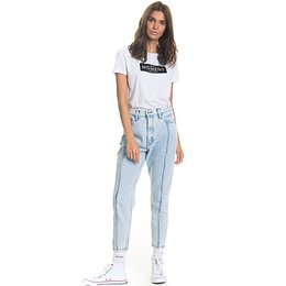 Big Star Woman's Trousers 115583 Light Jeans-237