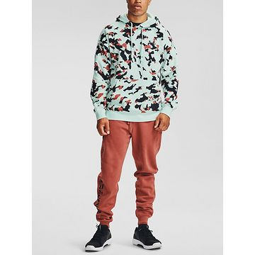 Mikina Under Armour Rival Fleece Camo HD-BLU