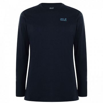 Jack Wolfskin Jack Corp Logo Long Sleeved T Shirt