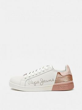 Pepe Jeans Women's Leather Sneakers