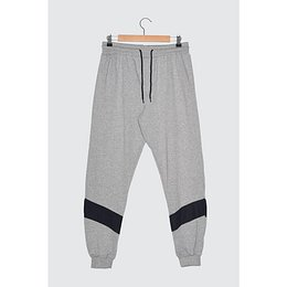 Trendyol Gray Men's Tracksuit Bottom