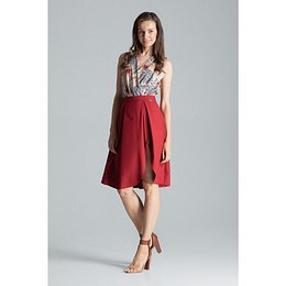 Figl Woman's Skirt M675 Deep