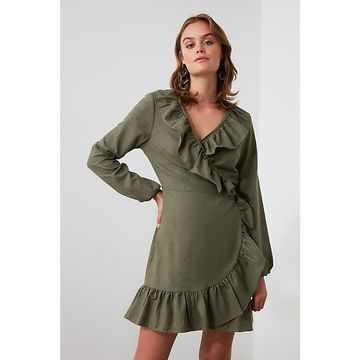 Trendyol Khai Ruffle Cruiser Dress