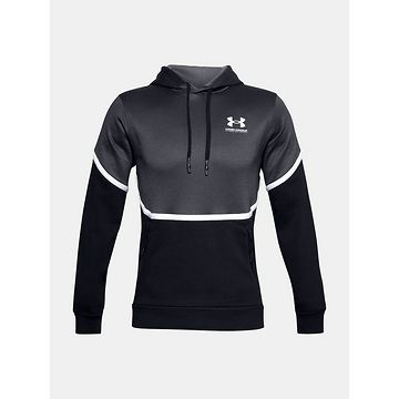 Mikina Under Armour UA Rival Fleece AMP HD-BLK