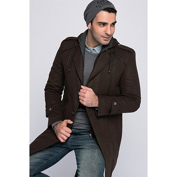 PLT8334 DEWBERRY MEN's COAT-COFFEE