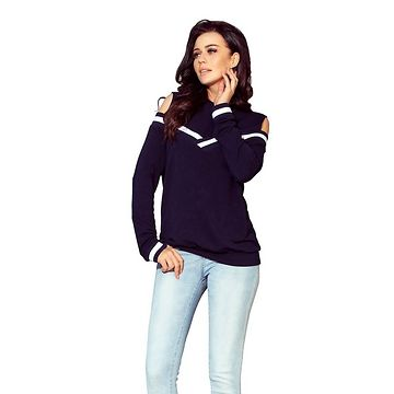 NUMOCO Woman's Sweatshirt 223-1 Navy Blue