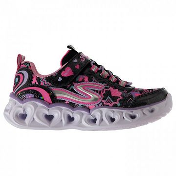 Skechers Heart Girls Light Up Trainers