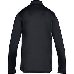 Pánská Mikina Under Armour Armour Fleece 1/2 Zip  Black/black  Xl