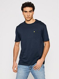 Lyle & Scott T-Shirt Pocket TS1364V Tmavomodrá Relaxed Fit