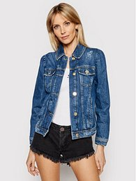 Pinko Jeansová bunda Betty PE 21 PDEN 1J10NB Y653 Tmavomodrá Regular Fit
