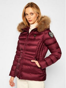 Blauer Vatovaná bunda Pamela Flared 20WBLDC03084 004938 Bordó Regular Fit
