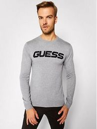 Guess Svetr M0BR53 Z2PL0 Šedá Regular Fit