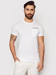 Joop! Jeans T-Shirt 15 Jjj-19Ajas 30025576 Bílá Regular Fit