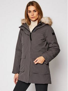 CMP Parka 30K3866 Šedá Regular Fit