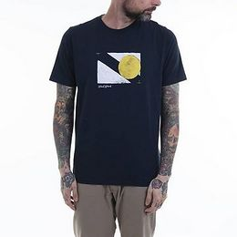 Wood Wood Sami T-shirt 12045715-2491 NAVY