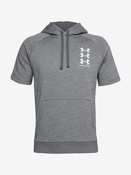 Rival Fleece Multilogo Mikina Under Armour Šedá