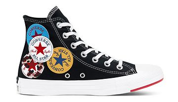 Converse Logo Play Chuck Taylor All Star High Top černé 166734C