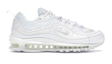 Nike Air Max 98 White/Purple Platinum-Black bílé 640744-106