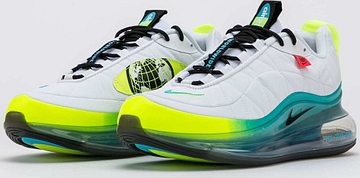 Nike MX-720-818 Worldwide white / black - blue fury - volt EUR 44