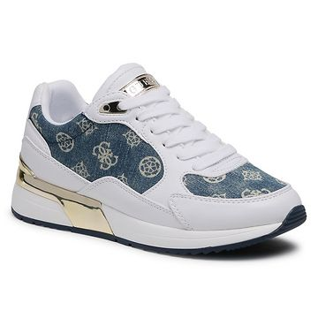 Sneakersy GUESS - Moxea2 FL5MX2 DEN12 WHITE
