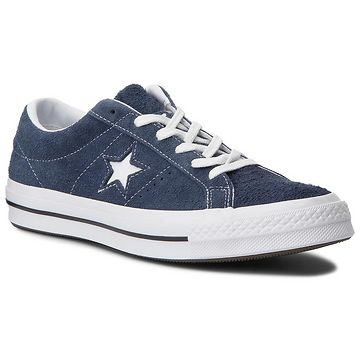 Tenisky CONVERSE - One Star Ox 158371C Navy/White/White