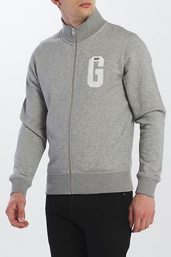 Mikina Gant D1. Graphic Zip-Through Sweat