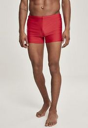 Urban Classics Basic Swim Trunk fire red