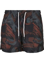 Urban Classics Pattern Swim Shorts 80's aop