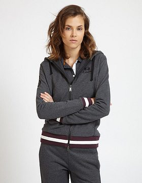 Mikina La Martina Woman Cotton Fleece - Šedá - 3