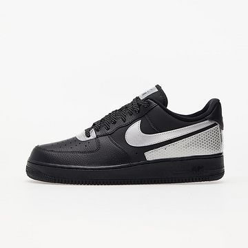 Nike Air Force 1 '07 LV8 3M Black/ Metallic Silver-Black EUR 45