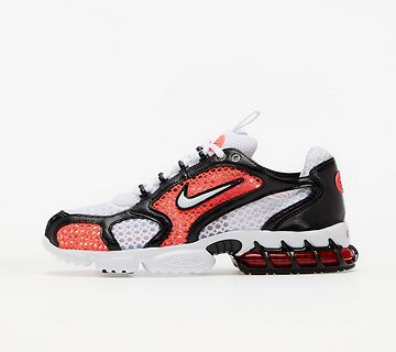 Nike Air Zoom Spiridon Cage 2 (W) White/ White-Flash Crimson-Black EUR 41