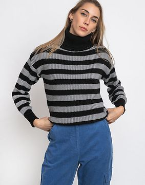 Wemoto Finja Stripe Black-Grey L