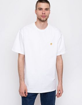 Carhartt WIP Chase White / Gold XS