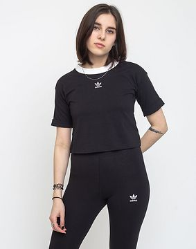 adidas Originals Crop Top Black/White 40