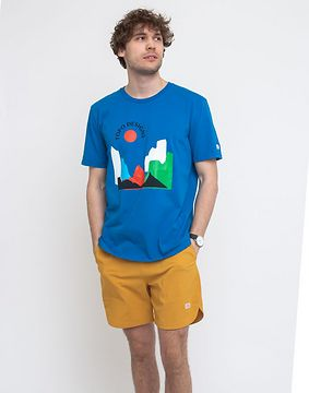 Topo Designs Sun Tee M Blue XL